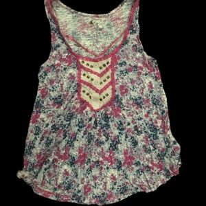 EUC loose tank top from Anthropologie (Ecote)
